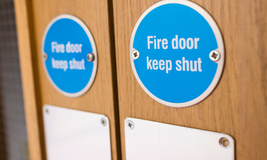 Lorient supports Arnold Laver Fire Door Safety Day