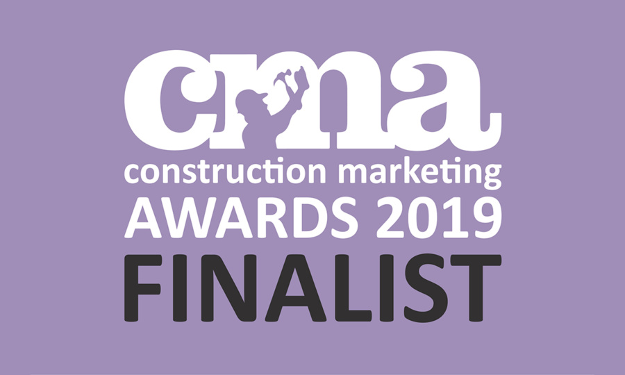 CONSTRUCTION MARKETING AWARDS 2019 –  FINALISTS!
