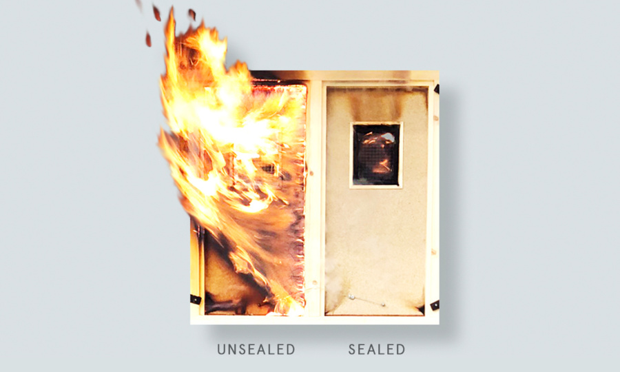 Fired up: FD30 Fire Doors