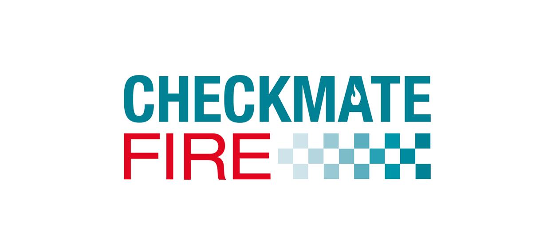 Checkmate fire logo