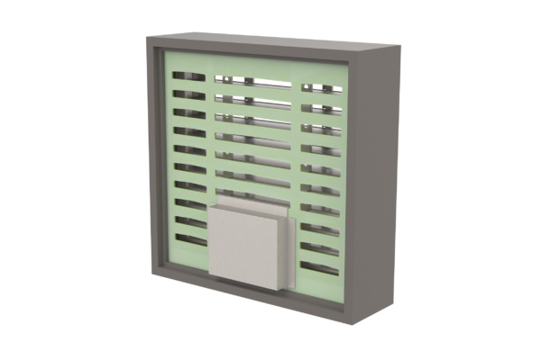 LVH44S Intumescent Air Transfer Grille