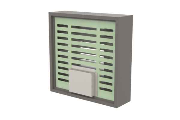 LVV40S Intumescent Air Transfer Grille